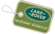 Landrover Stickers | Alle Land Rover stickers op maat!