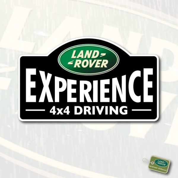 Stickerset Land Rover Experience