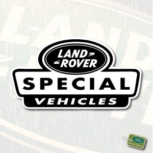 LR Special Vehicles sticker