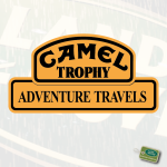 CAMEL TROPHY AT Logo